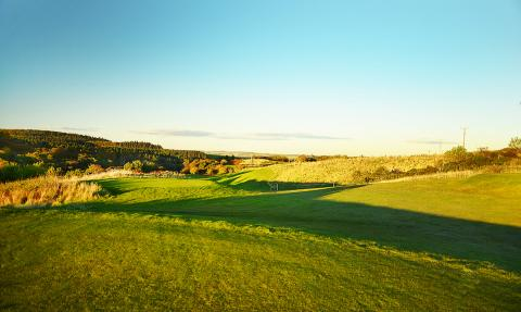Another accurate tee shot required as the fairway narrows, an excellent hole to finish the