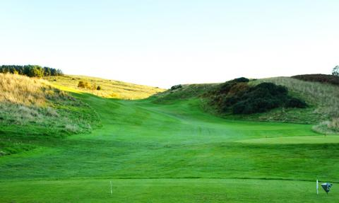Stroke Index 1, for a reason - accurate tee shot is vital, all uphill and trouble left and right