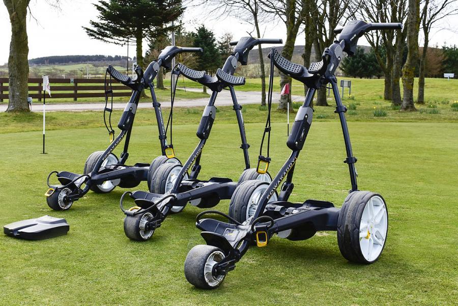 Craibstone Golf Club - Ex Rental Powakaddy Golf Trolley's