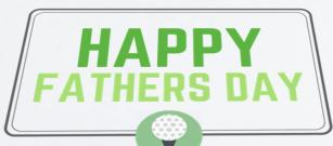 Fathers Day - make your Father's Day extra special with a golfing gift