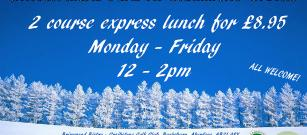 Winter Meal Deal - express lunches