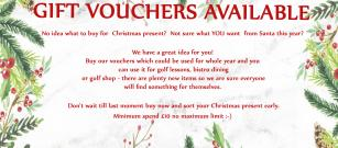 Christmas Vouchers Available