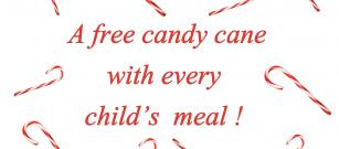 Free candy cane