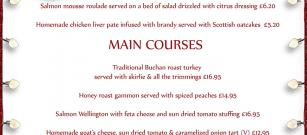 We are able to accept any Christmas bookings. CLICK HERE TO SEE OUR MENU