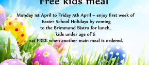 Free kids meal ( 1st April - 5th April)