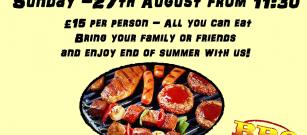 END OF SUMMER BBQ AT BRIMMOND BISTRO