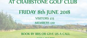 Seniors Open - Friday 8th June
