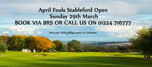 First Open of the year - April Fools Stableford