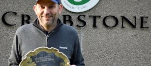 Andrew Finlay -- Peter Simpson Salver Stableford Winner 2020