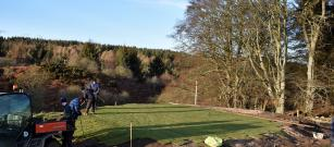 11th tee is looking flat!!