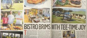 Review of Brimmond Bistro in Press & Jurnal Newspaper