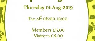 Only a few days left - Junior Stableford Open