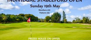 World Whisky Day Stableford Open
