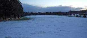 Course Closed today due to snow covering 28th Jan