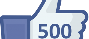 We reached 500 likes on Facebook