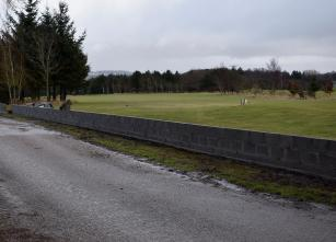 Entrance to 1st tee