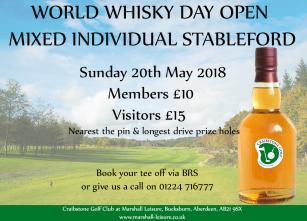 World Whisky Day Open