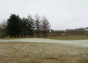6th green course closed