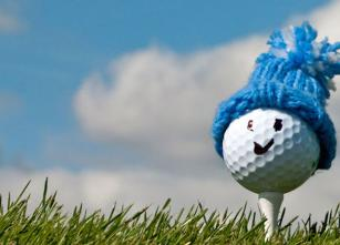 Winter Golf Ball