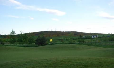 Brimmond Hill - a nice walk from Craibstone Golf Club, Aberdeen