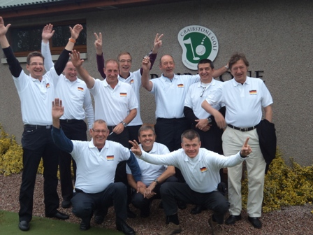 German Group at Craibstone Golf Course, Aberdeen